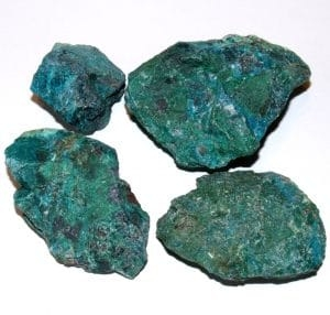 Chrysocolle brute 300x286
