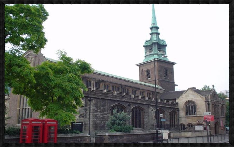 All hallows by the tower england