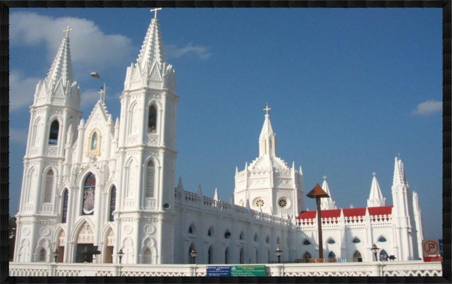 Basilica of our lady of good health india