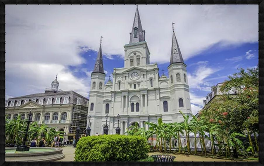 St louis cathedral louisiana